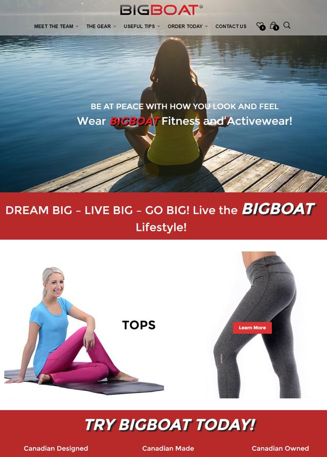 Bigboat Inc. Clothing